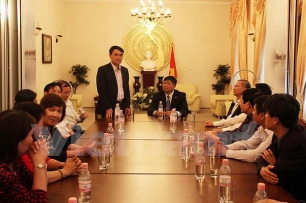 越南国会国防安全委员会代表团访问德国 hinh anh 1
