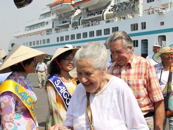 2016年前5个月胡志明市接待国际游客量达210万人次 hinh anh 1