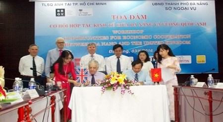 越南岘港市与英国的经济合作商机 hinh anh 1