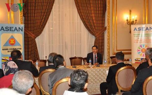 埃及与东盟经贸投资合作研讨会在埃及举行 hinh anh 1