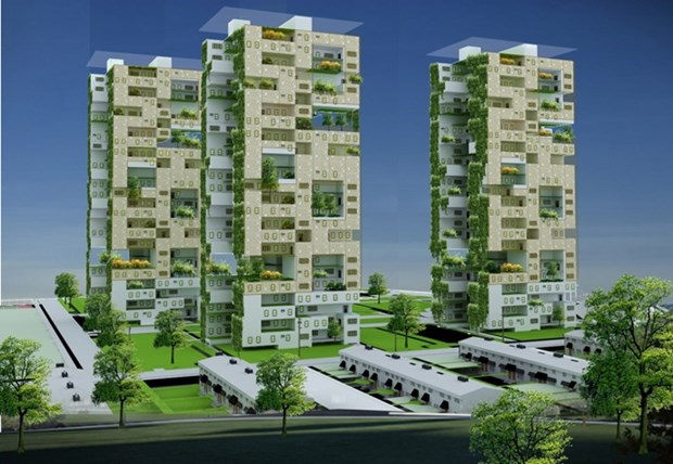 越南应兴建更多绿色大厦 有效保护环境 hinh anh 1