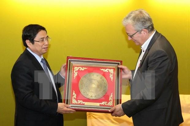 越南共产党代表团在法国展开系列活动 hinh anh 1