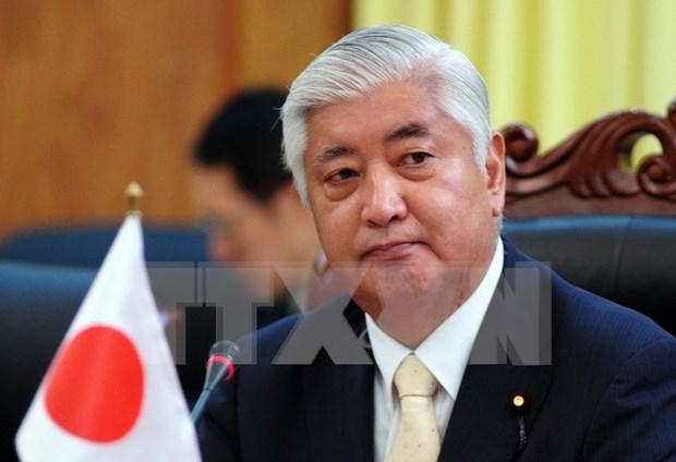 日本防卫相访问缅甸 hinh anh 1