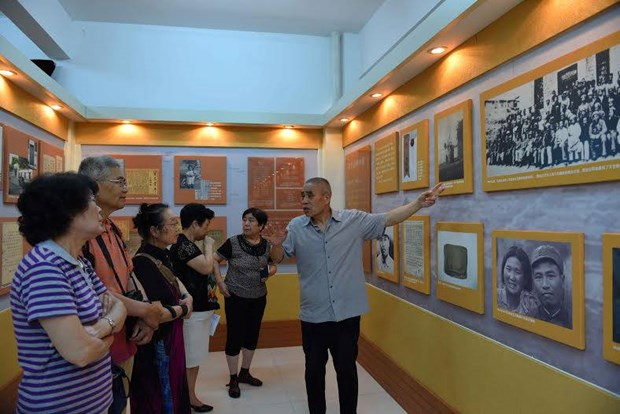 梁金生烈士诞辰110周年暨牺牲70周年纪念会在中国广东省举行 hinh anh 2