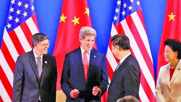 第八轮中美战略与经济对话:美国呼吁各国采取外交手段解决东海问题 hinh anh 1