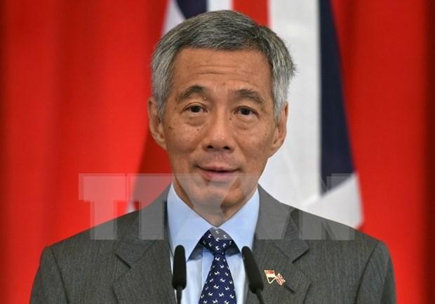 新加坡总理李显龙对缅甸进行正式访问 hinh anh 1