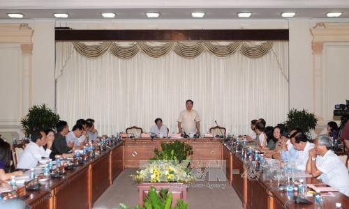 胡志明市市委书记丁罗升:胡志明市需要一个特殊机制 hinh anh 1