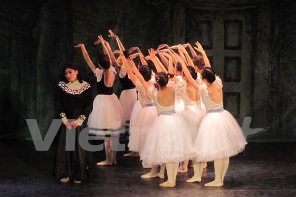 世界著名芭蕾舞演员将聚集河内 hinh anh 1