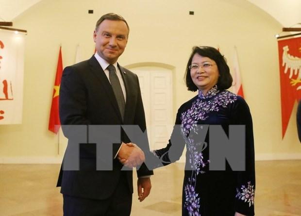 波兰总统安杰伊·杜达:波兰一向重视巩固和深化波越传统友谊与多方面合作关系 hinh anh 1