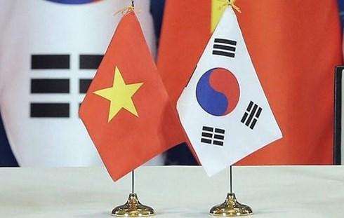 金融合作成越韩合作支柱领域 hinh anh 1