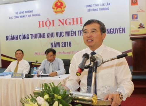越南中部和西原地区力争实现2016年工业总产值超过420万亿越盾的目标 hinh anh 1