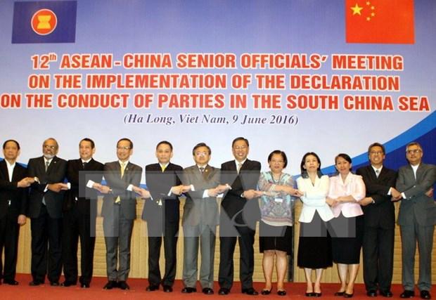 第12次东盟与中国高官会议在越南广宁省举行 hinh anh 1