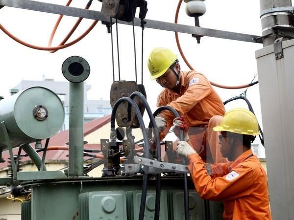 越南电力集团确保向长沙群岛供电充足 hinh anh 1