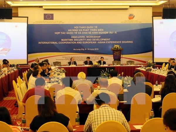 在越南广宁省举行的有关海洋安全与发展国际研讨会圆满闭幕 hinh anh 1