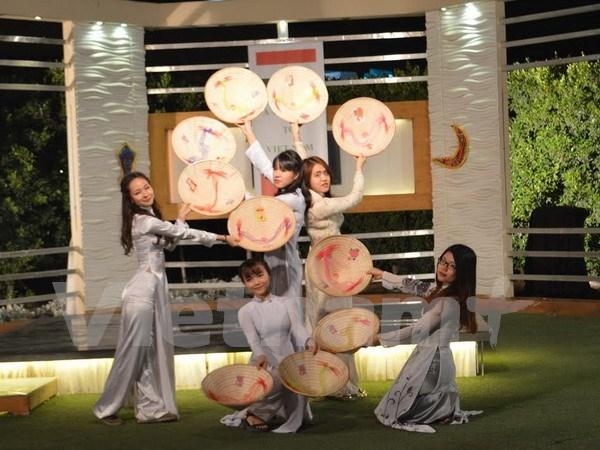 越南文化在埃及尼罗电视台精彩亮相 hinh anh 1