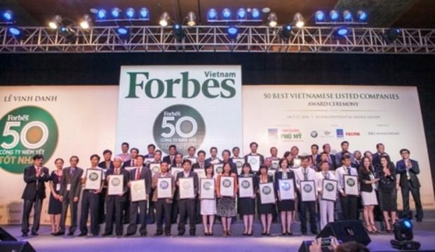 越南石油保险股份公司跻身越南最佳上市公司50强 hinh anh 1