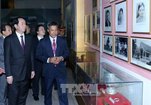 越南国家主席陈大光访问老挝期间开展系列活动 hinh anh 6