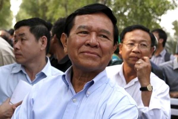 柬埔寨法院判处三名救国党党员每人7年监禁 hinh anh 1