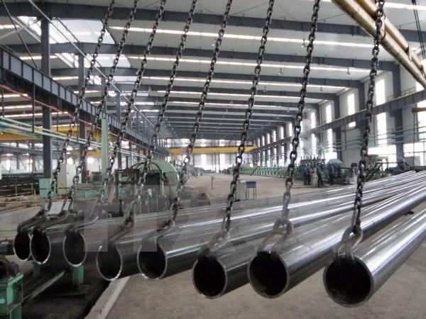 前5月钢材生产量大幅增加 hinh anh 1