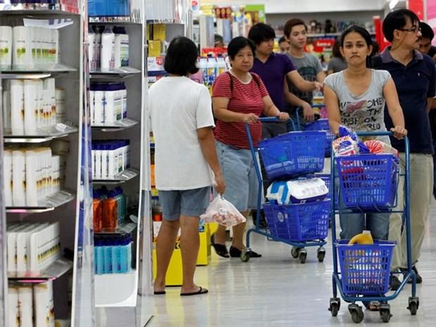 全球经济低迷菲律宾出口持续下滑 hinh anh 1
