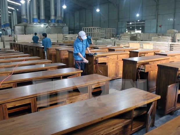 越南木制品主动参加国际市场 hinh anh 1