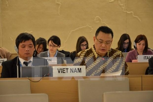 东盟将继续为联合国人权理事会各活动做出贡献 hinh anh 1
