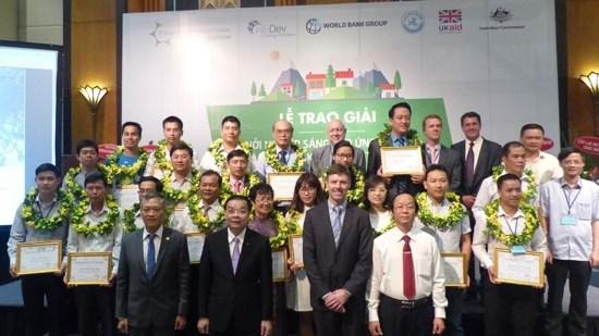 """19家企业荣获""""创新创业应对气候变化""""奖项 hinh anh 1"""