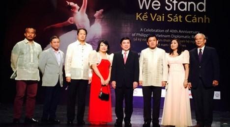 越南与菲律宾建交40周年庆典活动在胡志明市举行 hinh anh 1