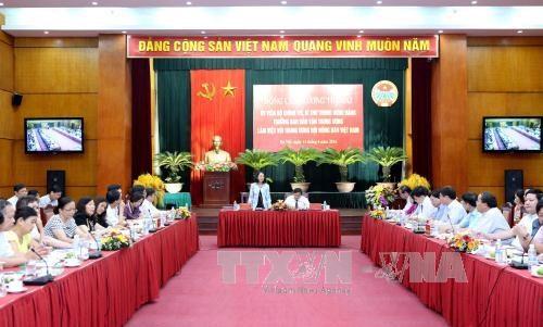 越南农民在农业发展和新农村建设工作扮演主体作用 hinh anh 1