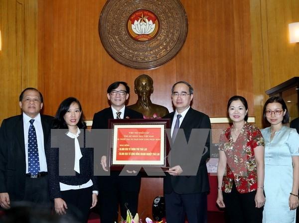泰国向越南旱区和海水入侵灾区灾民捐赠10万美元善款 hinh anh 1
