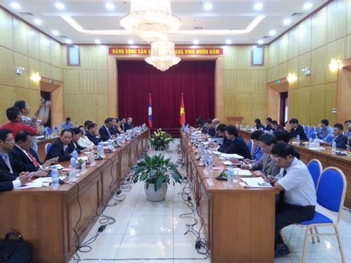 越老两国计划投资部在河内举行座谈会 hinh anh 1