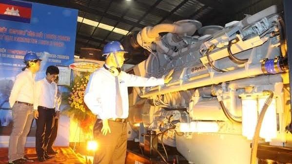 越南对柬埔寨出口国产发电机 hinh anh 1