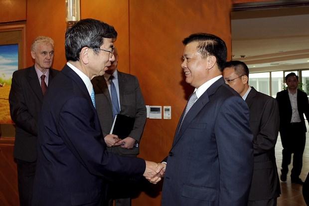 越南财政部与亚洲开发银行加强合作 hinh anh 1