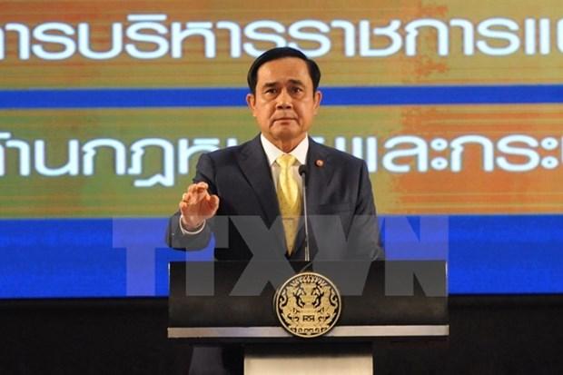 泰国总理巴育访问印度推动双边合关系发展 hinh anh 1