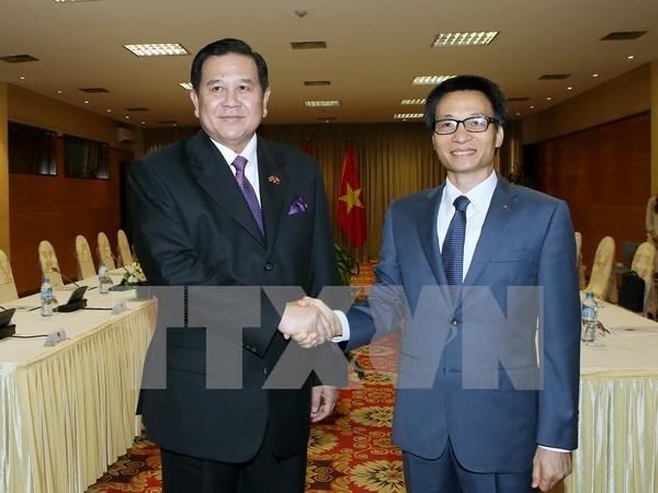 越南与泰国进一步加强多方面合作 hinh anh 1