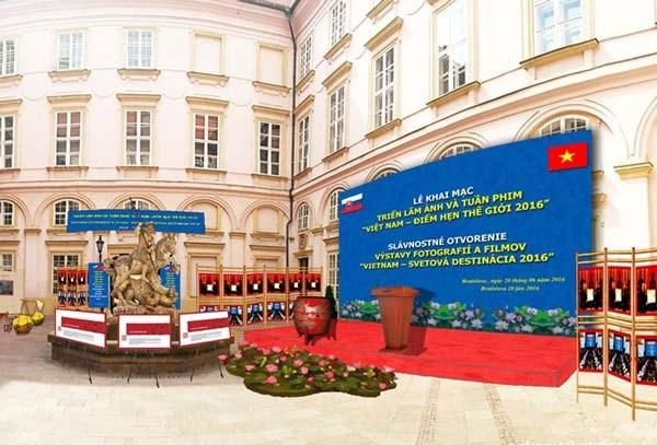 """""""越南——2016年世界相约之地""""摄影展和电影周在斯洛伐克举行 hinh anh 1"""