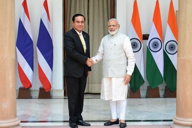 印度与泰国加强合作关系 hinh anh 1