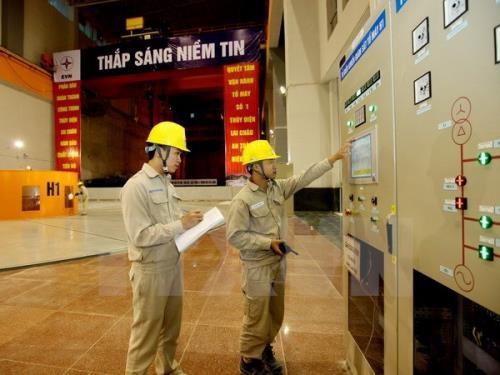 莱州水电站2号机组正式并网发电 hinh anh 1