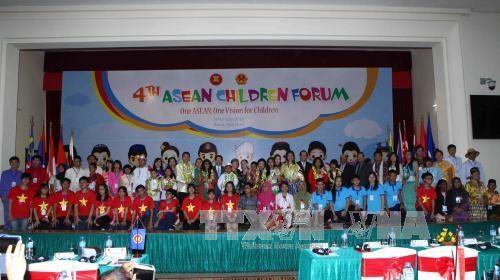 第4次东盟儿童论坛在河内拉开序幕 hinh anh 1