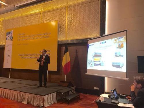 越南与比利时加强纺织技术领域的合作 hinh anh 1