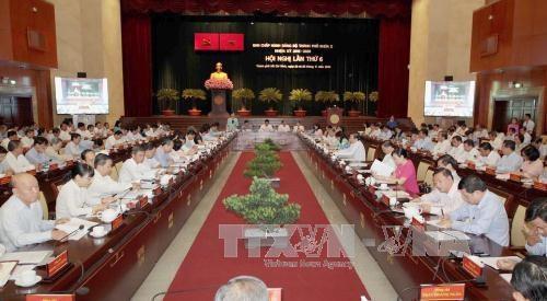 越共胡志明市第十届委员会第六次会议开幕 hinh anh 1