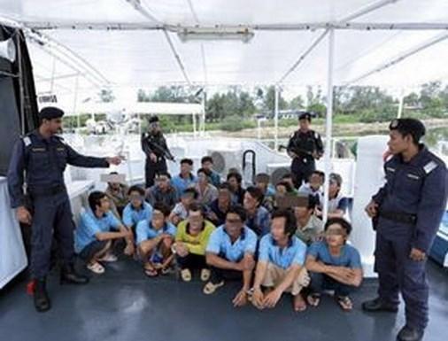 越南驻马大使馆要求马方保障越南渔民的生命安全和给予人道主义待遇 hinh anh 1