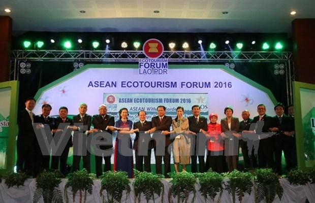 2016年东盟生态旅游论坛在老挝正式开幕 hinh anh 1