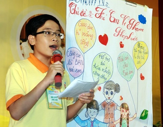 第四次东盟儿童论坛:区域内儿童发出的声音越来越受到重视 hinh anh 1
