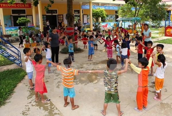 联合国将协助越南政府完善儿童保护系统 hinh anh 1