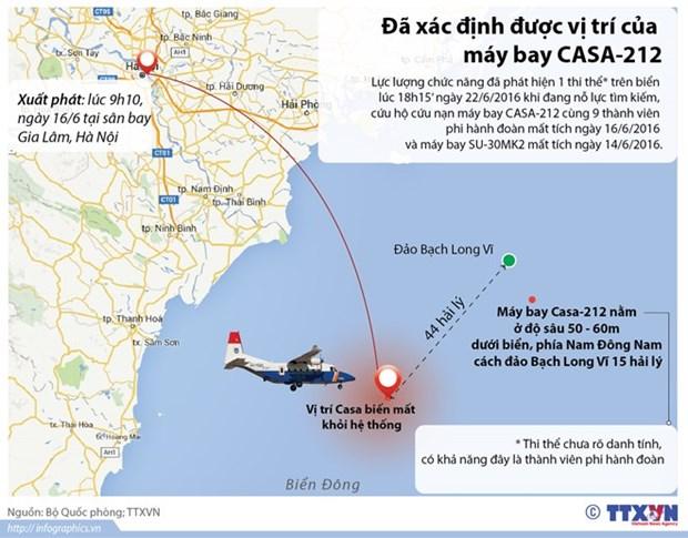 越南CASA-212和SU30 MK2两架飞机搜救工作最新进展 hinh anh 1
