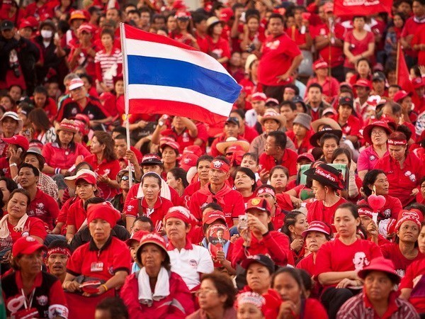 泰国红衫军要求对政府关闭公投监督中心一事进行调查 hinh anh 1