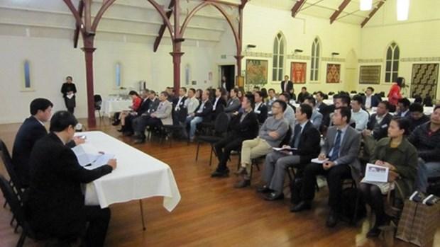 新西兰越侨企业协会成立联络委员会 hinh anh 1