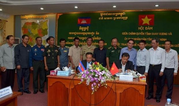 越南西宁省同柬埔寨柴楨省新开放4个小口岸 hinh anh 1