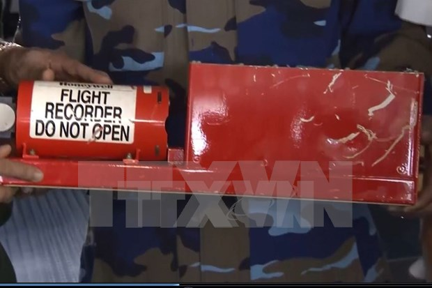 越南CASA212失事飞机的两个黑匣子已被找到并打捞 hinh anh 1
